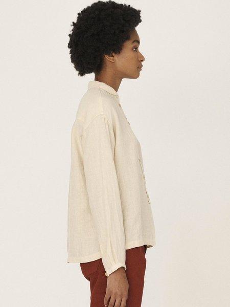 YMC Marianne Shirt - Ecru
