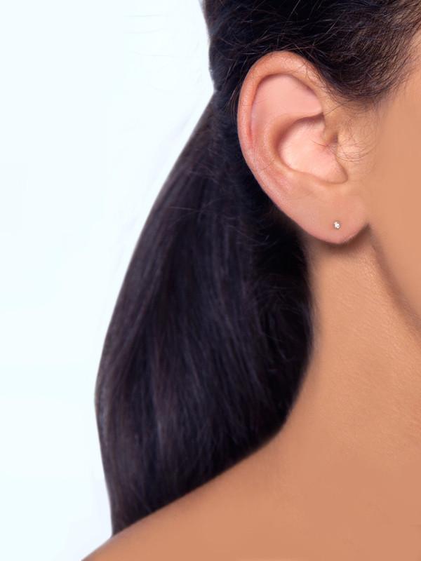 Still House Kaya Earring White Diamond