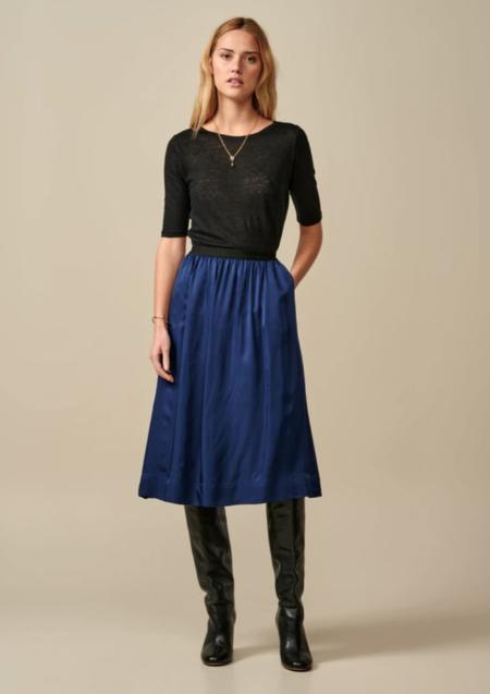 Bellerose Houx Skirt - Worker Blue