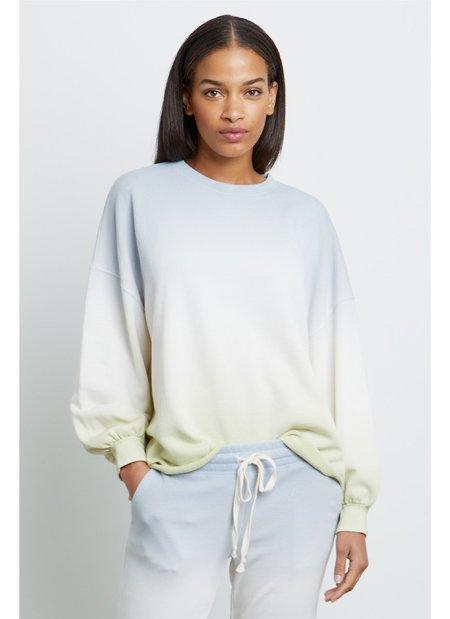 Rails Reeves Sweatshirt - Blue Mint Dip Dye