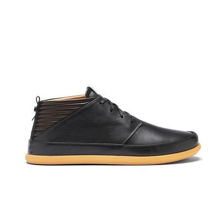 VOLTA FOOTWEAR Classic Leather shoes - BLACK/GUM