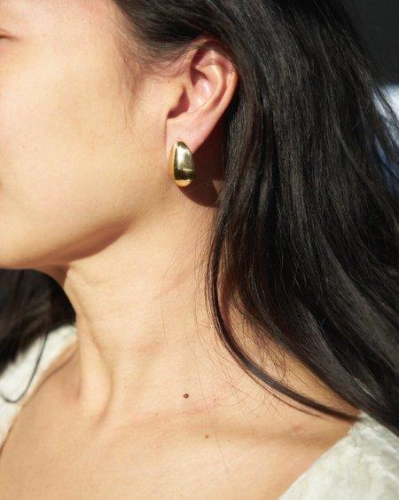 Odette New York Shield Earrings