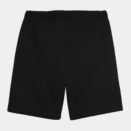 CARHARTT WIP Chase Sweat Short - Black