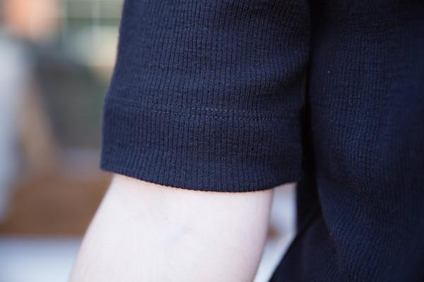 Waltz Wool T-Shirt in Midnight