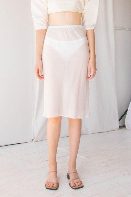 Angie Bauer Carly Skirt - cream