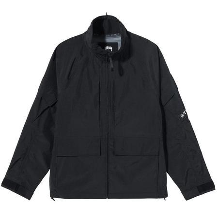 Stussy Apex Shell Jacket - Black