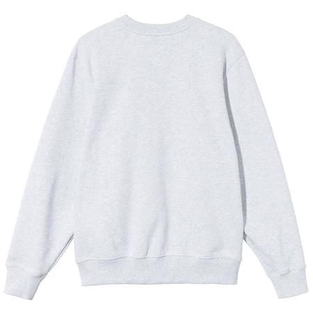 Stussy Stock App. Crew sweater - Ash Heather