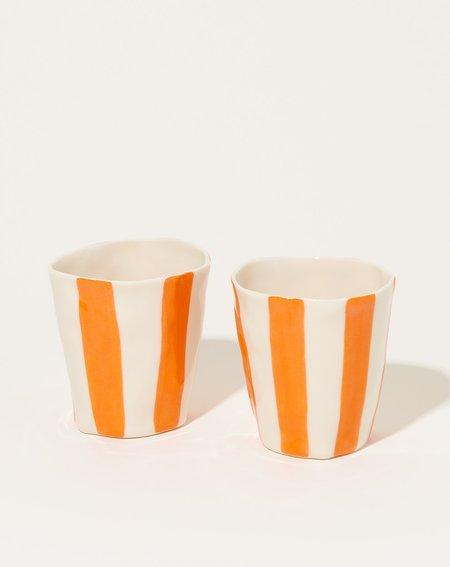 Isabel Halley Wine Cup - Orange