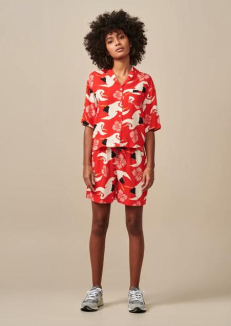 Bellerose Poppy Shirt - Red