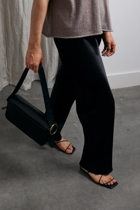 St. Agni Bianca Shoulder Bag - Black