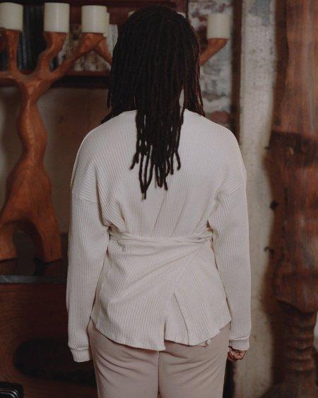 Baserange Shaw Long Sleeve - Off White