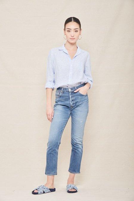 Frank & Eileen Linen Eileen Shirt - LBLN LT BLUE LINEN