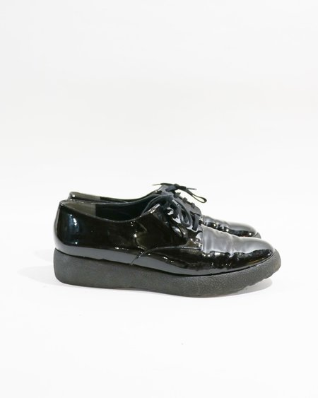[Pre-loved] Robert Clergerie Patent Leather Lace Up Shoes