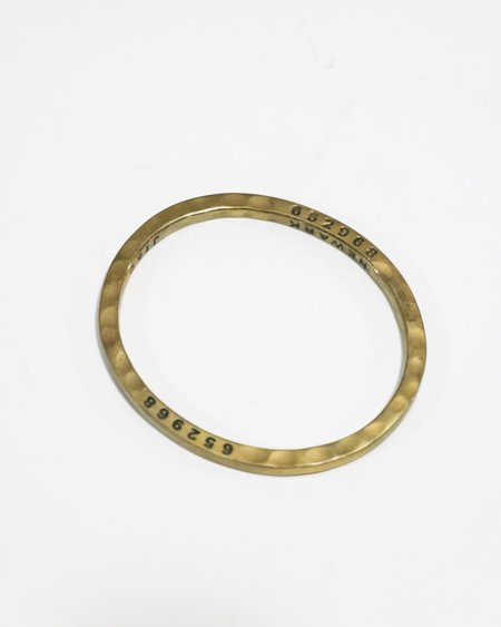 [Pre-loved] The Caliber Collection Bangle - Brass