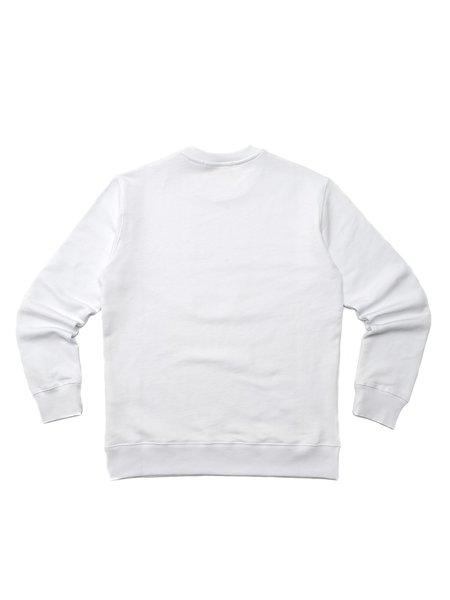 MSGM FELPA/SWEATSHIRT - OPTICAL WHITE
