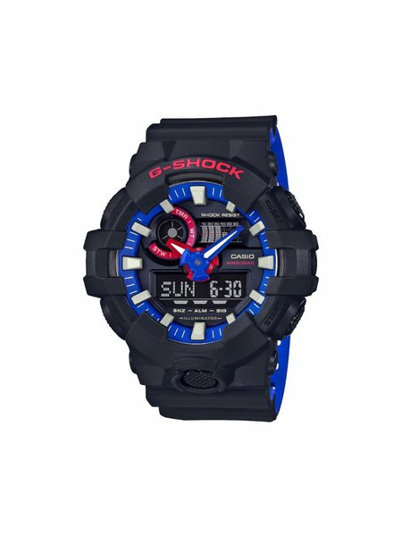 G-Shock GA700LT-1A Limited Edition watch - black/blue