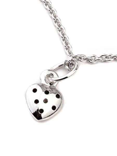 CINCO Li Necklace - Silver