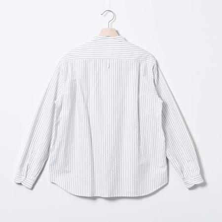 Danton Pullover L/S Oxford Pocket Shirt - Oyster Grey