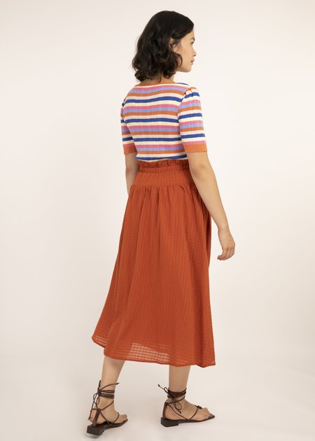 Mabel and Moss Erica Skirt - Rust