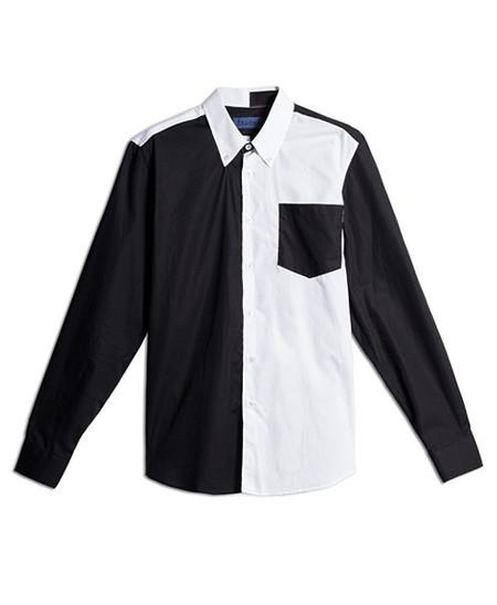 Etudes Acadia PW Black White Shirt
