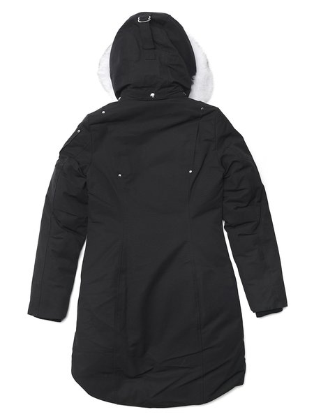 MOOSE KNUCKLES W STIRLING PARKA LDS - BLACK/NATURAL