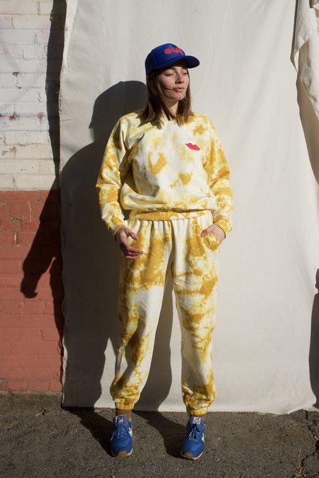 Clare V. Poppy Sweatpants - Marigold