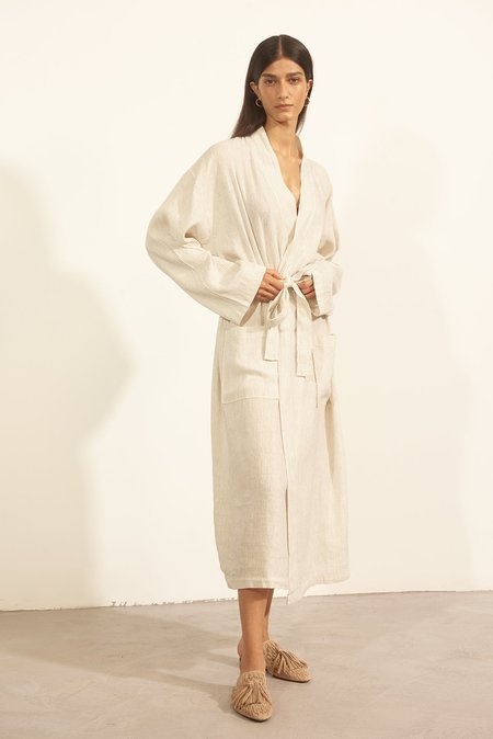 Else Riviere Robe/Cover Up - Off White