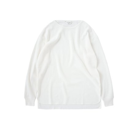 Still By Hand Thermal Long-Sleeve - White