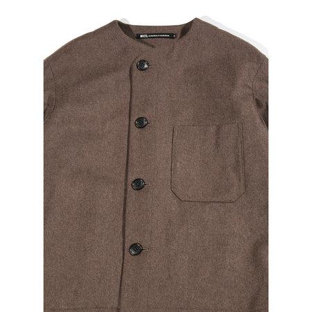 Nicholson & Nicholson Arch Front Pocket Jacket - Brown