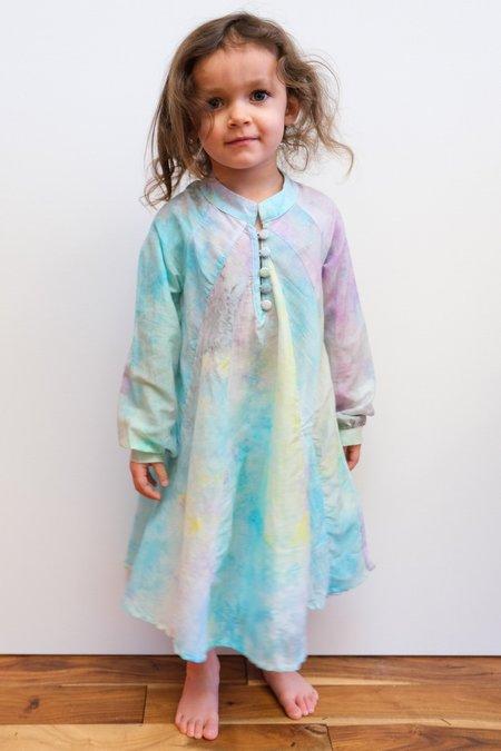 Kids Natalie Martin Fiore Maxi dress - Rainbow Cloud