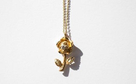 Kindred Black The Alamayou Rose necklace - Gold