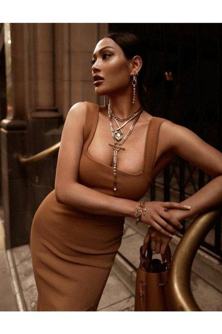 Lionette Aram Necklace - gold