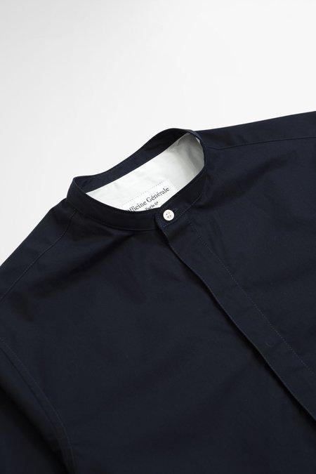 Officine Generale Alfred Shirt - Dyed Dark Navy