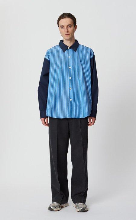 Mfpen Exact Shirt - Dark Navy Stripe