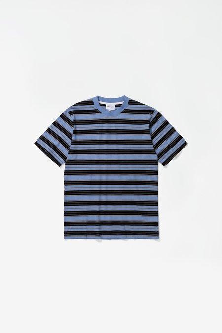Norse Projects Johannes Multi Stripr Tshirt - Scoria Blue
