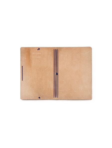 Calepino Leather Portfolio Plain Paper no.3
