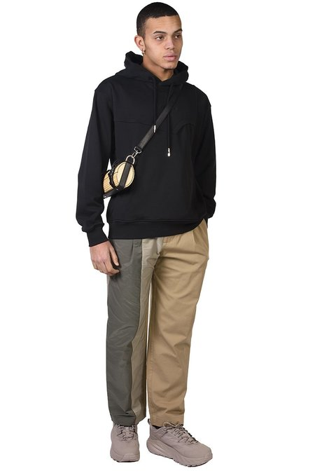 Feng Chen Wang French Terry Hoodie sweater - Black