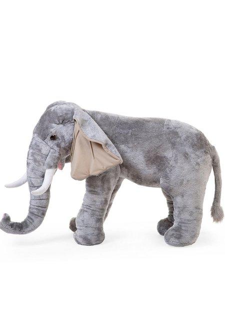 Kids CuddleCo Standing Elephant Stuffed Animal
