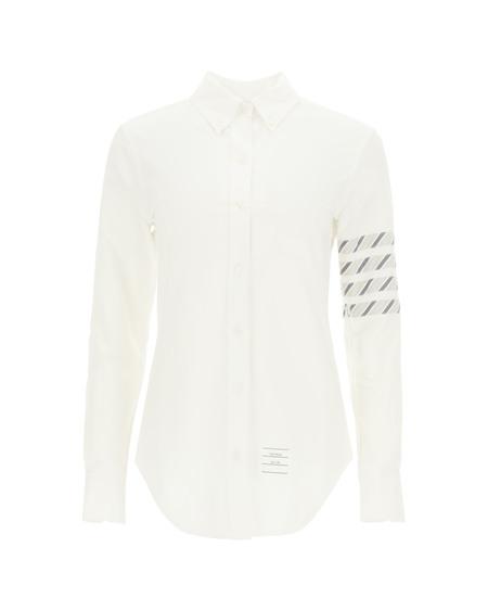 Thom Browne 4-Bar Oxford Cotton Shirt