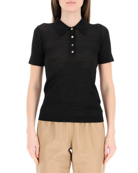 Nanushka Hatti Wool Polo Shirt