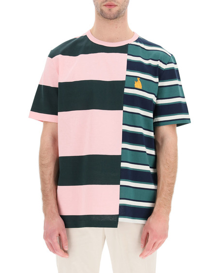 Lanvin Patchwork Rugby T-Shirt - Multicolor