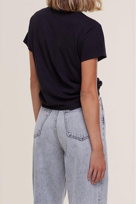 AGOLDE RENA T-SHIRT - BLACK