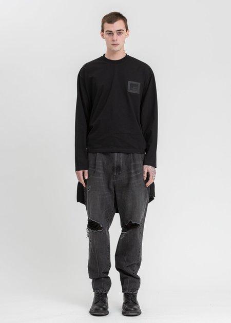 Komakino Reversible Double T-Shirt - black