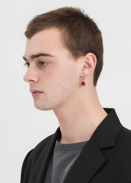 DEPARTMENT CANDY EARRING - White Gold