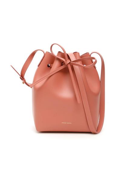 Mansur Gavriel Mini Bucket Bag - pink