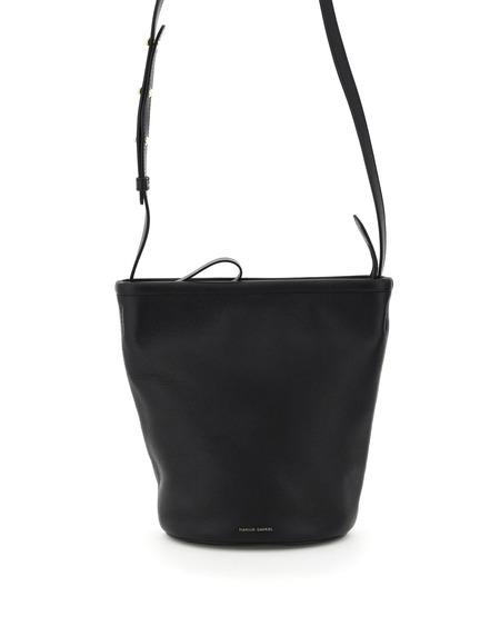 Mansur Gavriel Bucket zip Bag - black