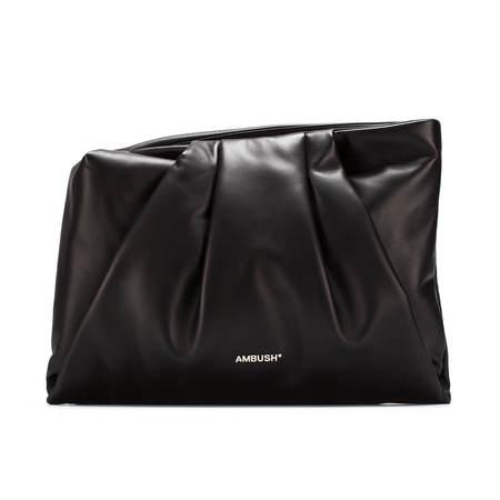 AMBUSH Maxi Wrap clutch bag - black