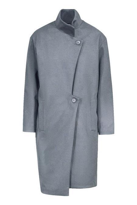 Valerie Dumaine Damaris Coat - blue/grey