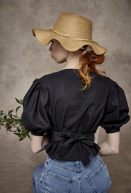 Rightful Owner luca blouse - black