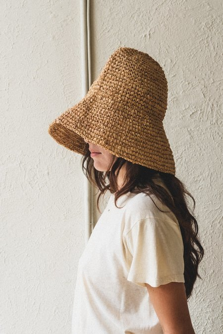 Brookes Boswell BOARDWALK HAT - NATURAL
